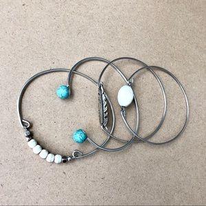 Set of 4 Beachside Bracelets 🐚